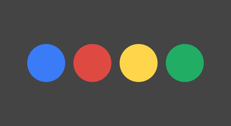 Page load animation – Google Plus circle